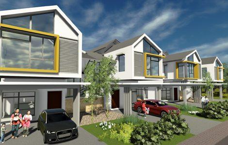 Jasa Membangun Rumah Cluster Minimalis